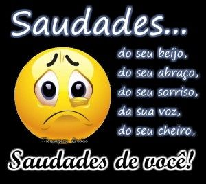 Saudades Emojis Love Quotes Frases Love