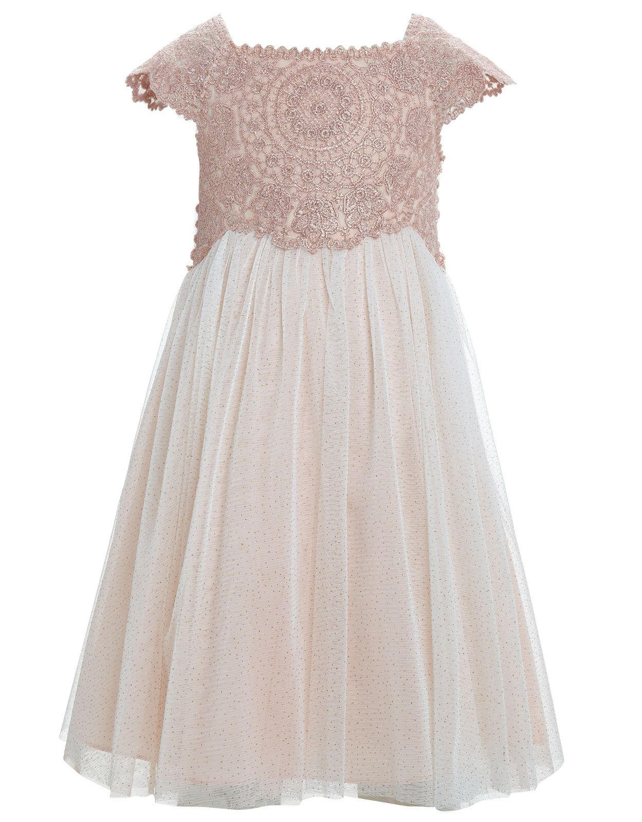 Baby Estella Pink Sparkle Dress Pink Monsoon 7000 To Love