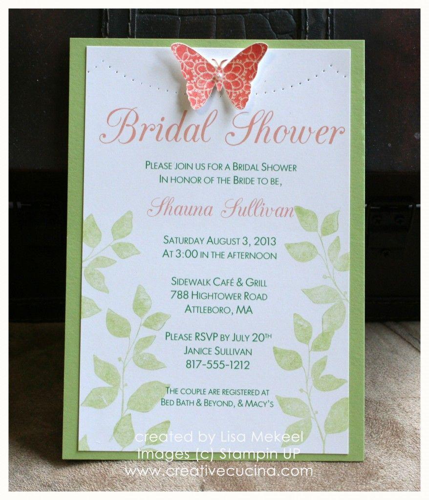 4e073204bbb Summer Garden Bridal Shower Invitations