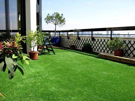 pequeño jardin con pasto sintético - buscar con google | ideas
