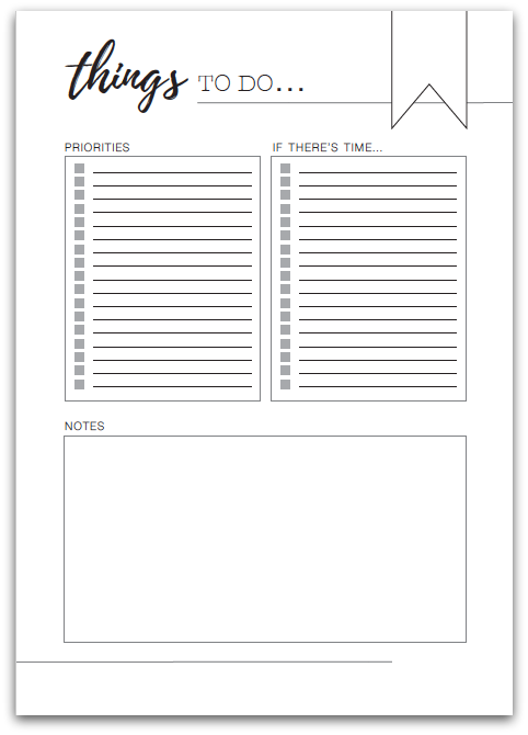 photograph regarding Free Printable to Do Lists to Get Organized known as Free of charge Printable In direction of DO Listing toward Obtain Existence Much more Organised Straight