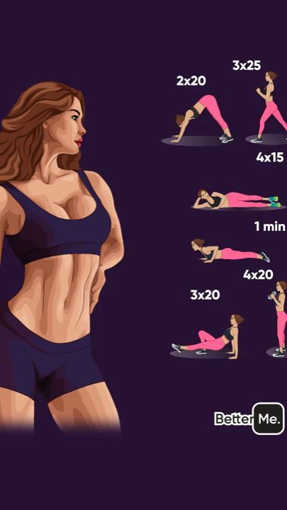 Hometraining Übungen #fitnessexercisesathome