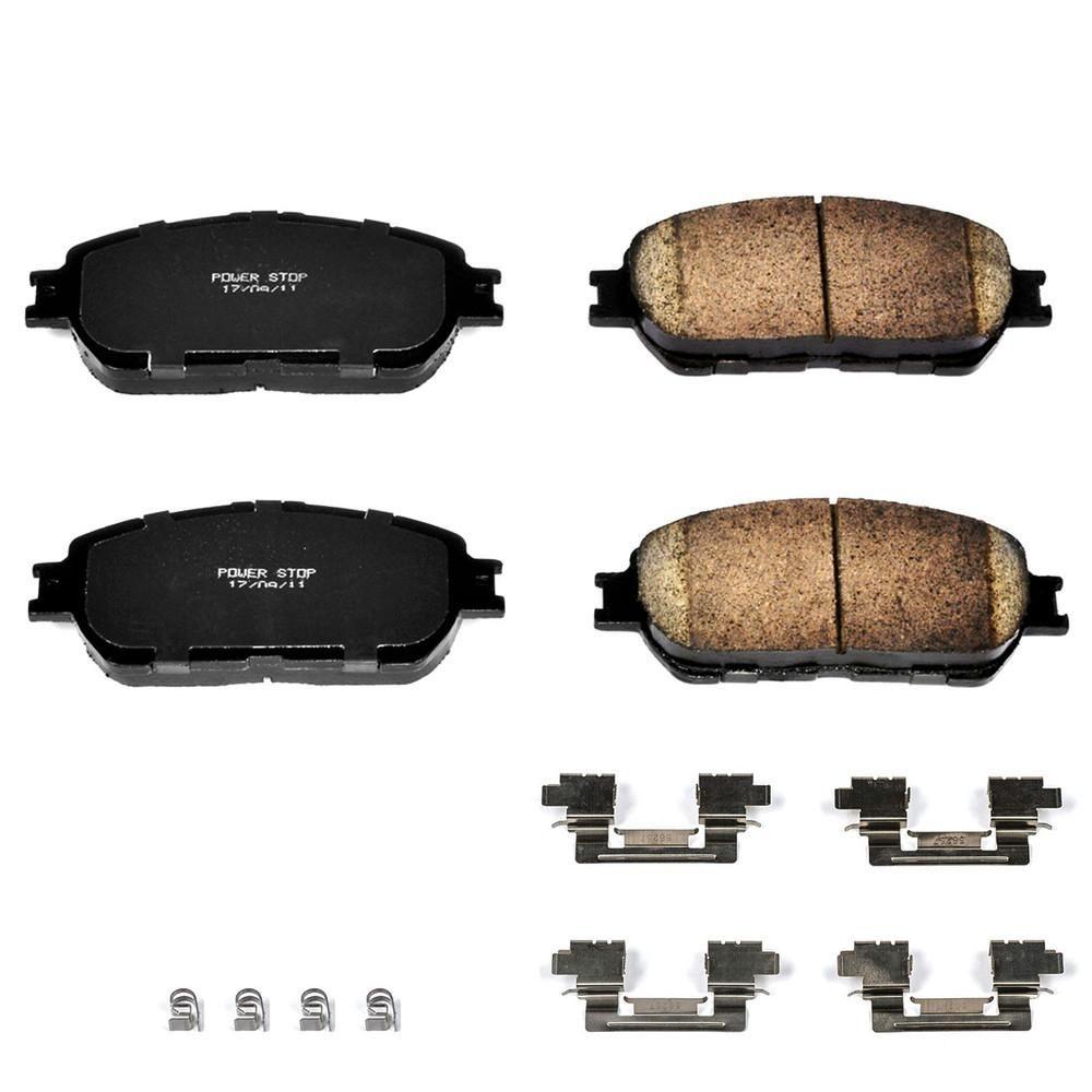 Power Stop Disc Brake Pad Set 17 906a Brake Pads Toyota Solara Performance Brakes