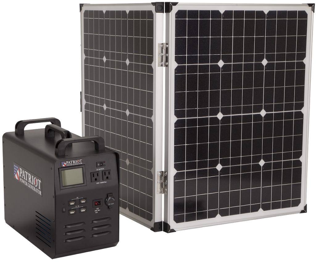 The Patriot Power Generator 1500 Is A Revolutionary Solar Generator To Give You Portable Easy Energy Indoors Or Solar Panels Solar Generator Solar Heating