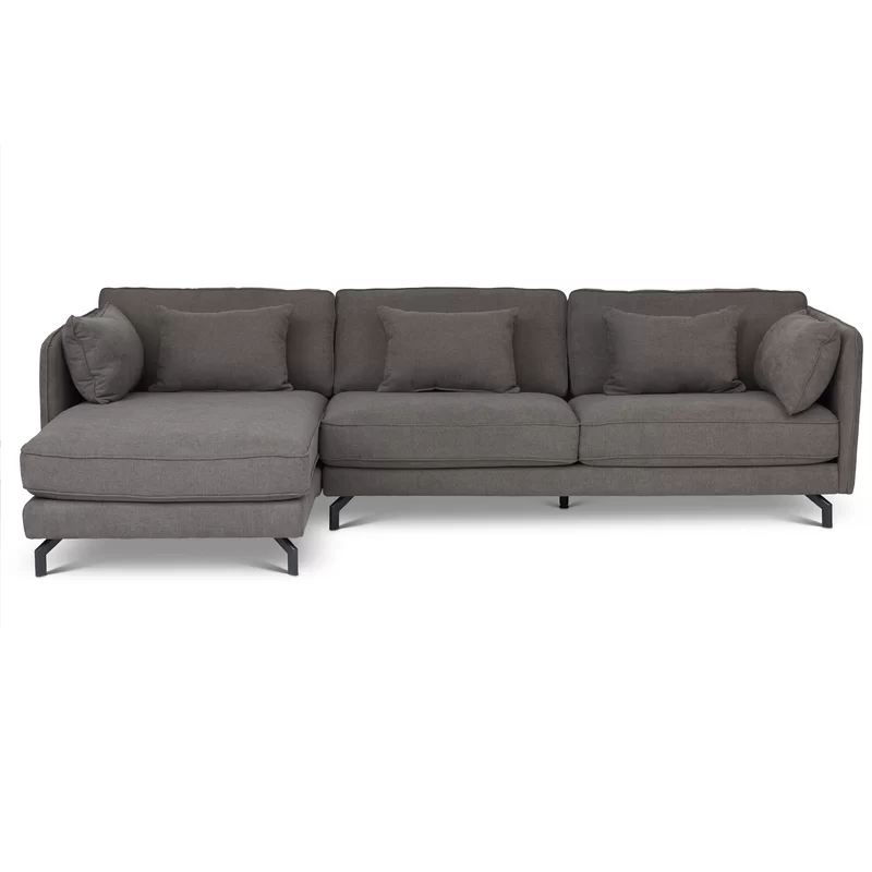 Union Rustic Wychwood Left Hand Facing Sectional Reviews Wayfair Sectional Modern Sectional Sectional Sofa Couch