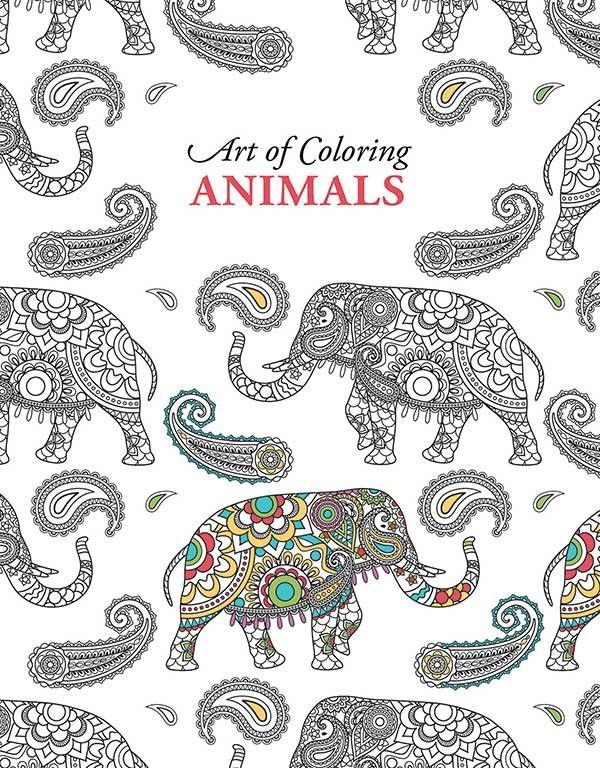 Art Of Coloring Animals Will Help You Rediscover The Calming Benefits And  Creative Stimulation Of Coloring! This Quality Adult Coloring Book From  Leisure ...