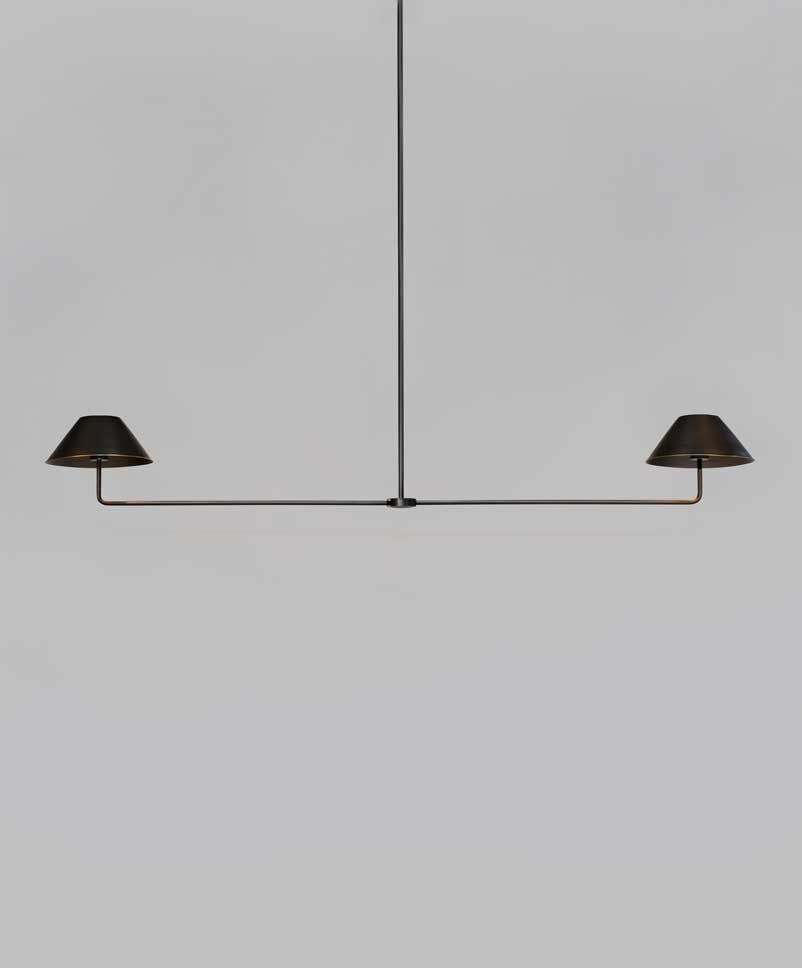 Urban Industrial Double Ring Chandelier: Nickey Kehoe For Urban Electric // UECo
