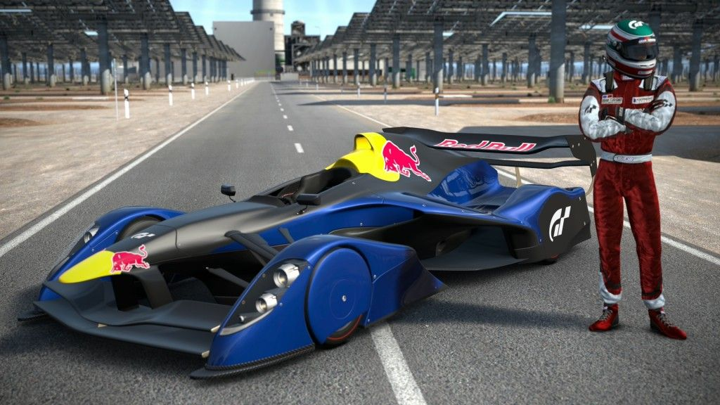 fans of gt5 will remember the insane red bull fan car that. Black Bedroom Furniture Sets. Home Design Ideas