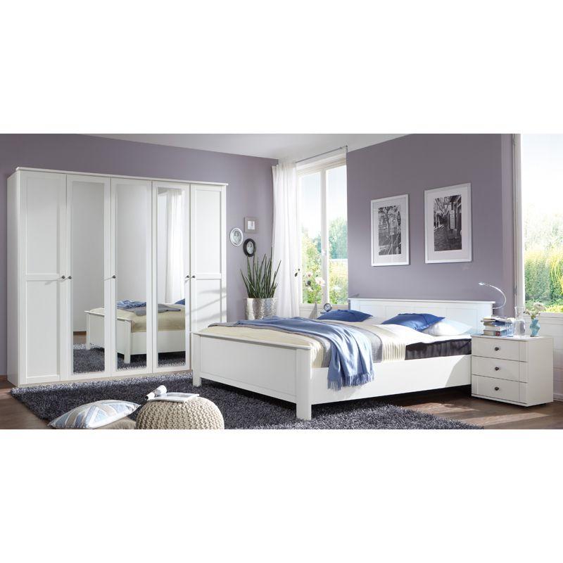 Schlafzimmer Set CHALETO166 Alpinweiß Jetzt bestellen unter   - schlafzimmer komplett