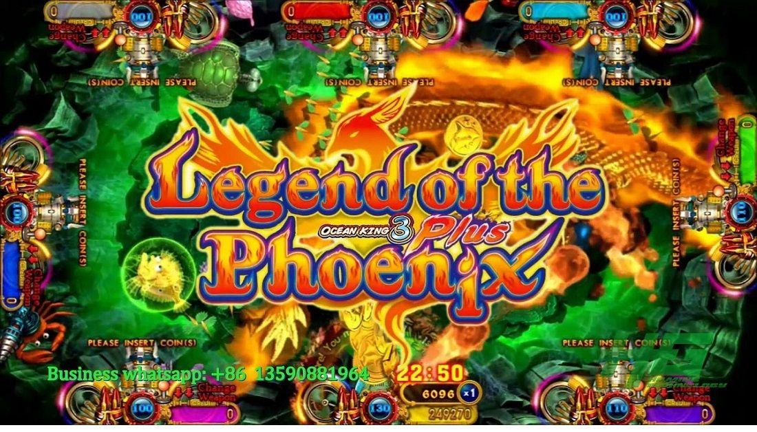 Newest High Profits Ocean King 3 Plus Legend Of The Phoenix Ocean King 3 Plus Fishing Game For Sale Gametube Game Video Ar Game Sales Kings Game Fishing Game