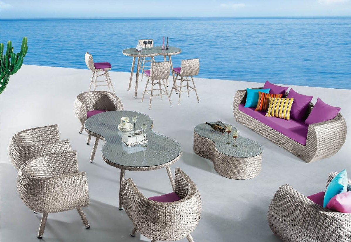 I Love This Unusual Patio Outdoor Furniture Set By Esf Furniture
