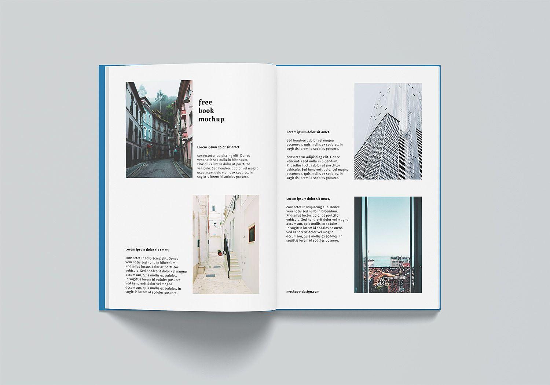 A4 Hardcover Book Mockup Free Mockup Hardcover Book Hardcover Mockup Design