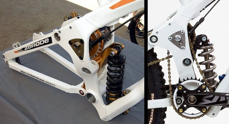 Zerode G 1 Gearbox Dh Frame Leaps Two Performance Barriers