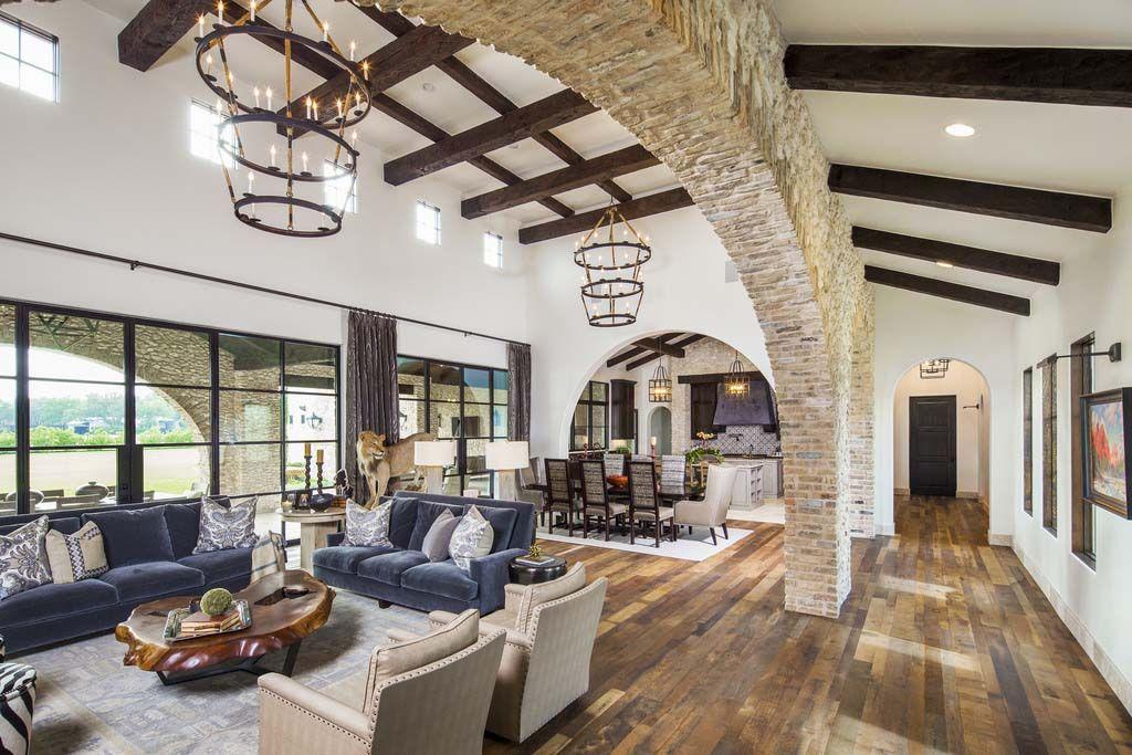 Photo of Home Tour: Mediterranean style villa boasting stylish interiors in Texas