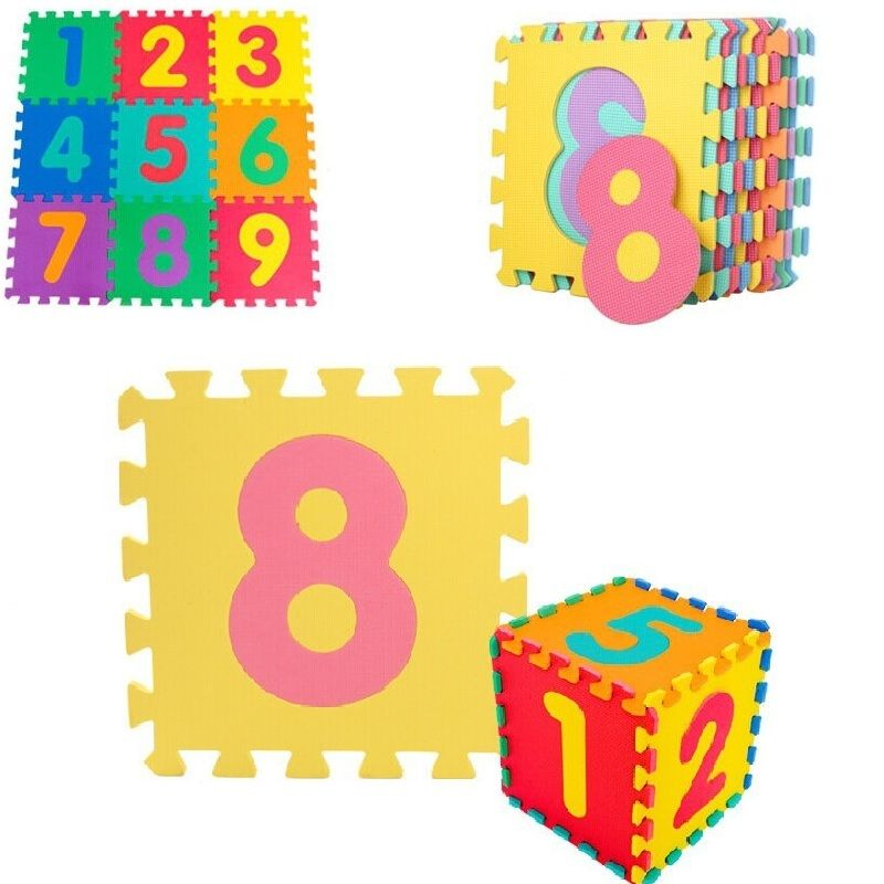 10 stks/set Puzzel Tapijt Baby Speelkleed Vloer Puzzel Mat EVA kinderen Foam Tapijt Mozaïek floor Ontwikkelen Kruipen Tapijten