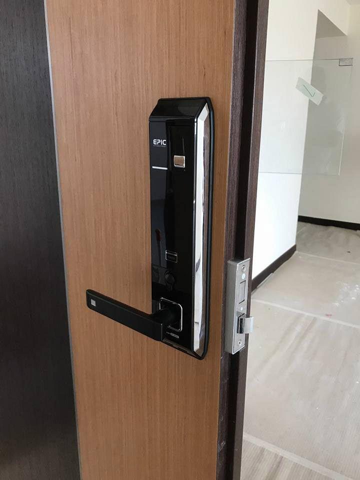 My Digital Lock Specialise In Gateman Keywe Smart Home Epic And Samsung Digital Lock For Hdb Fire Rated Main Door And Gate Hdb Laminate Bedroom Door Pvc Toi Digital Lock Doors