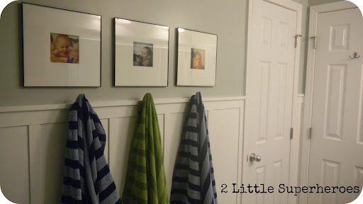 $187 Boys Bathroom Makeover - 2 Little Supeheroes