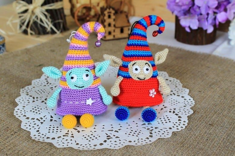 Crochet elf doll amigurumi pattern | Amigurumi-muster, Amigurumi und ...