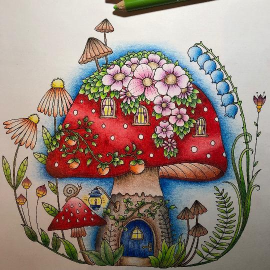 Monikasarai45 29 04 2020 Johanna Basford Colouring Gallery Johanna Basford Coloring Book Basford Coloring Floral Drawing