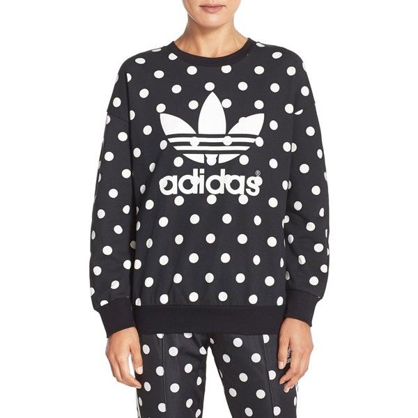 adidas Dots Allover Print Pullover Hoodie from PacSun