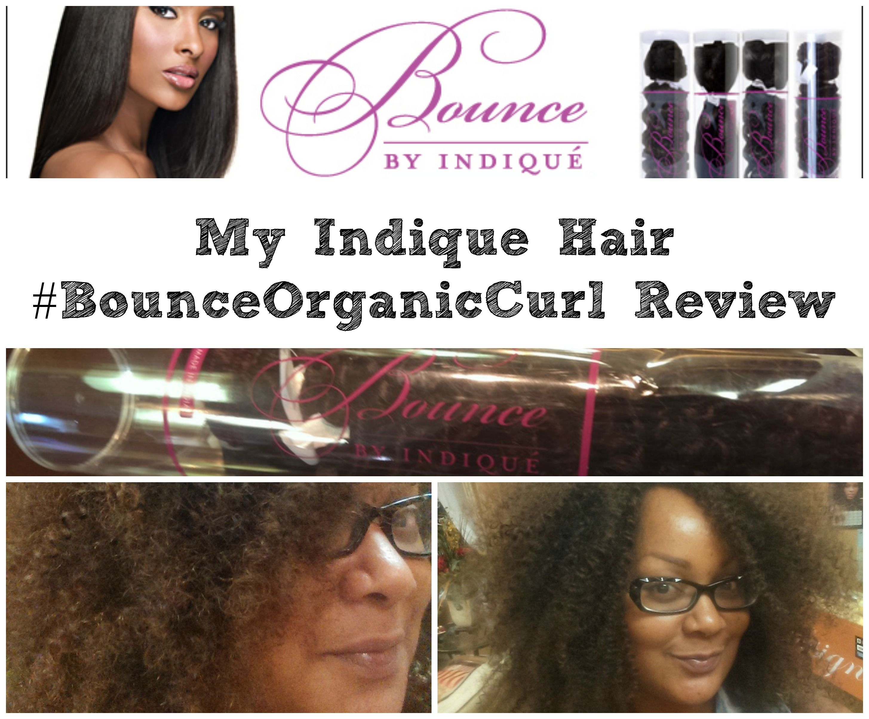 Playing Around In My New Indique Hair Bounceorganiccurl My Review