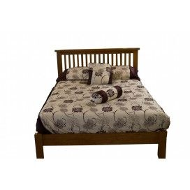 """Canterbury Oak Bed - 4ft'6"""" -Straight"""