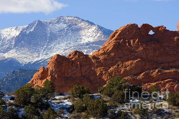 Garden Of The Gods By Steve Krull With Images Pikes Peak