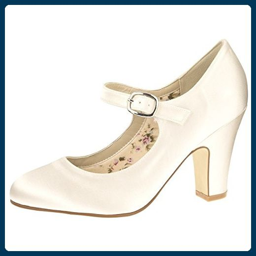 f16d1e328c9f Rainbow Club Brautschuhe Madeline Ivory Satin (Bliss) (6.5) - Damen pumps  ( Partner-Link)