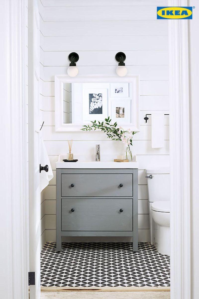 60 Cool Rustic Powder Room Design Ideas 24 Ikea Bagno Ikea