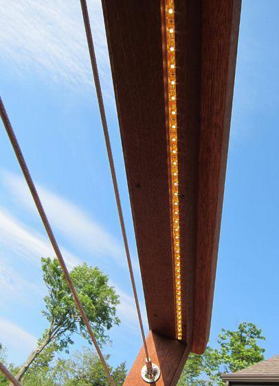 Best Led Lights And Cable Deck Railing Idea Railing 400 x 300