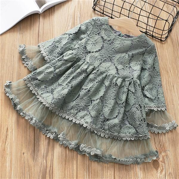 d2e128abdf03 Toddler Girls Dress for Fall Autumn Mustard Grey Pink Boho Outfit Lace  Vintage – Noah's Boytique