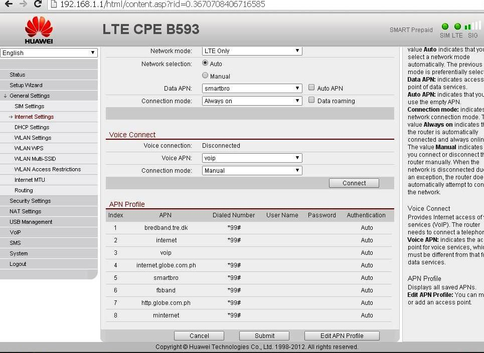 How to Flash the Firmware of Huawei B593u 4G CPE Router Free