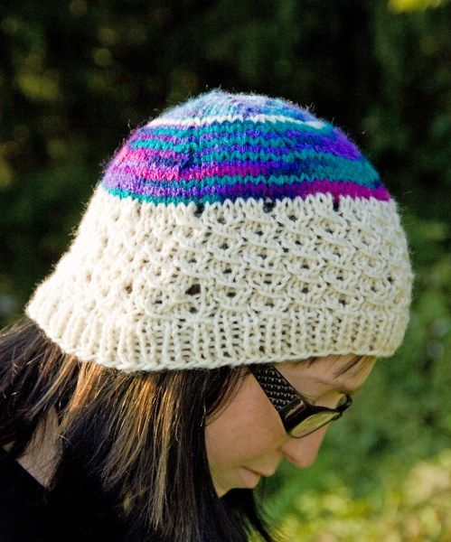 Ludicraft: Snow Shoe Hat: Free Knitting Pattern