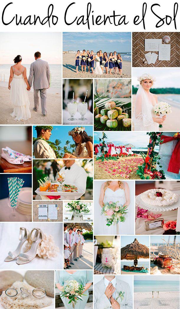 Ideas fabulosas para Tu boda en la playa