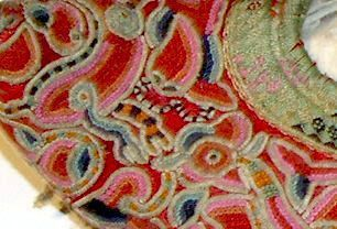 Chinese cloth shoes - late 19th century