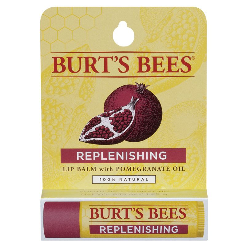 Buy Burts Bees Replenishing Lip Balm With Pomegranate 4 25g Online