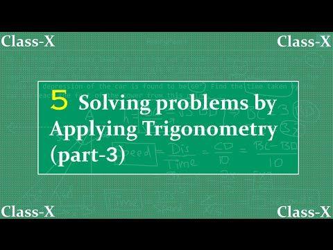 10TH CLASS APPLICATIONS OF TRIGONOMETRY VIDEOS - Digital Learning ...