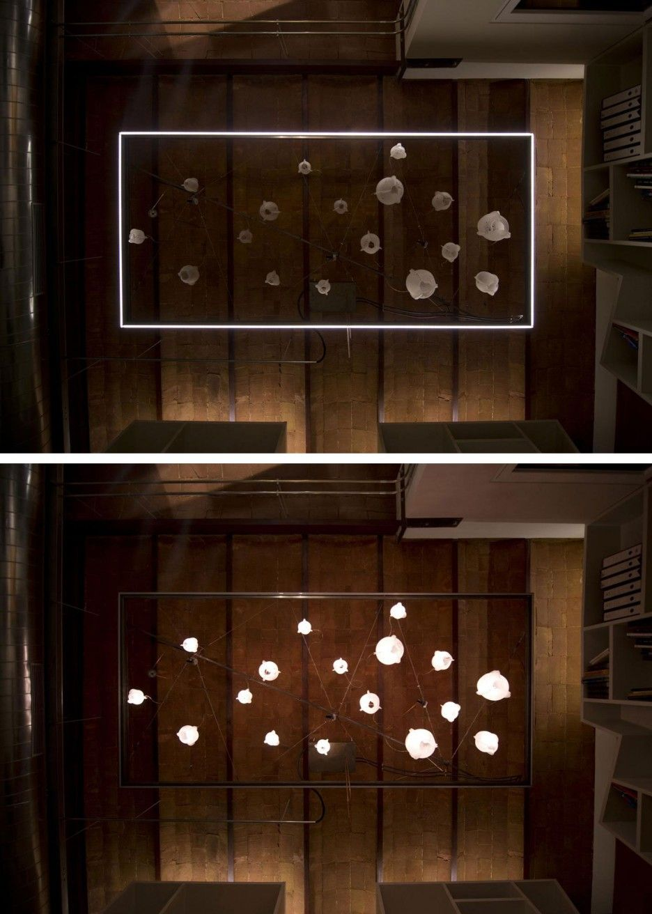 Wonderful Pendant Lamp Designs Aobe The Home Office In Communicating Vessels Use Paper Lampshade With LED Light