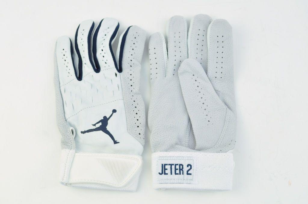 Lot Detail Derek Jeter Air Jordan Batting Gloves W No Use Derek Jeter Air Jordans Batting Gloves