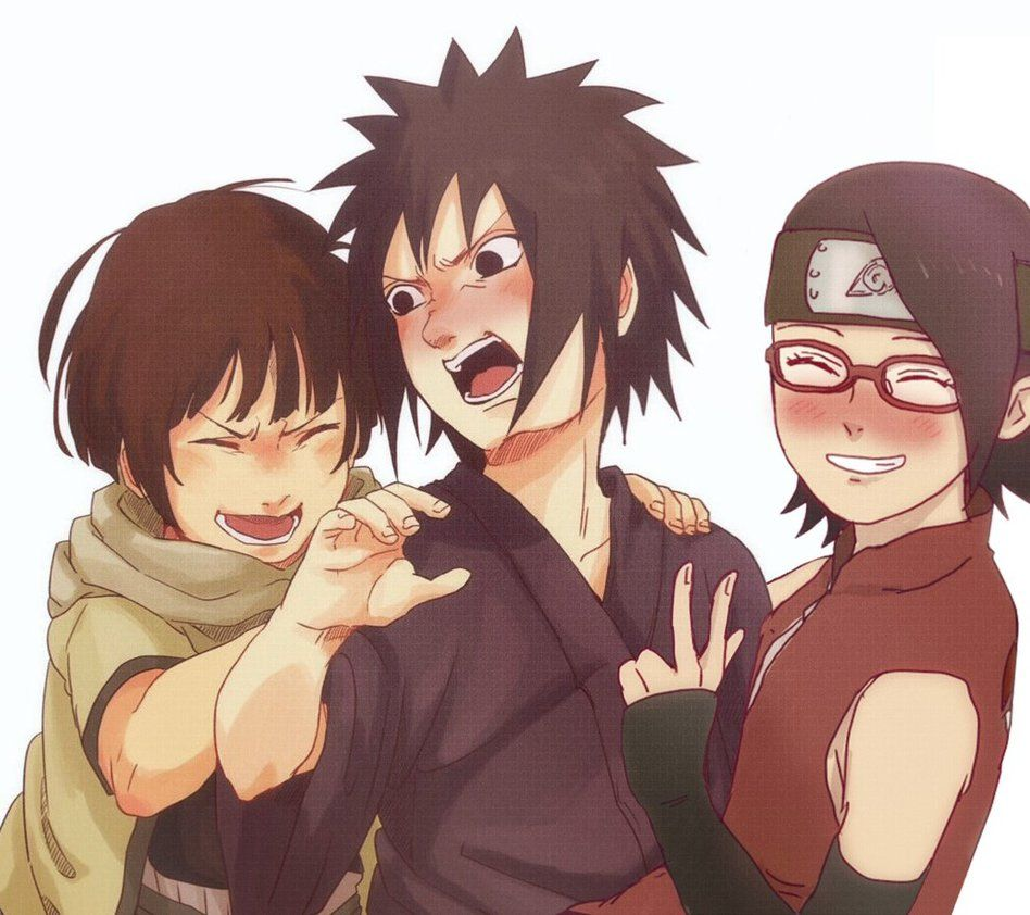 I want a fanfic of Sarada traveling through time and meeting