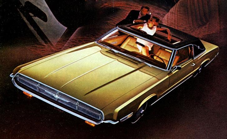 1969 Thunderbird Landau Car Ads Automobilia Coupe