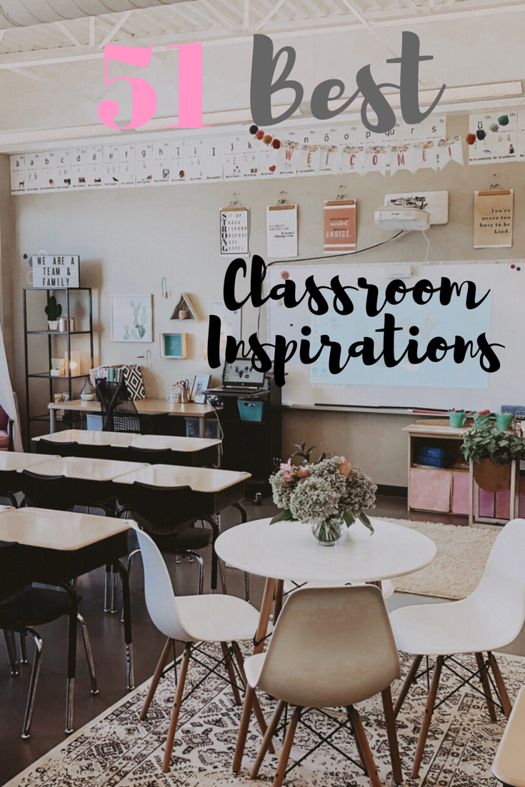 51 Best Classroom Decoration Ideas is part of Classroom decor, Teachers room, Classroom ideas middle, Middle school classroom themes, Elementary classroom themes, Reading corner classroom - 51 amazing classroom decoration ideas including how to create a cozy reading nook, an amazing teacher space, awesome bulletin boards and wait until you see this