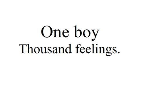one boy thousand feelings quotes quote words word sayings saying