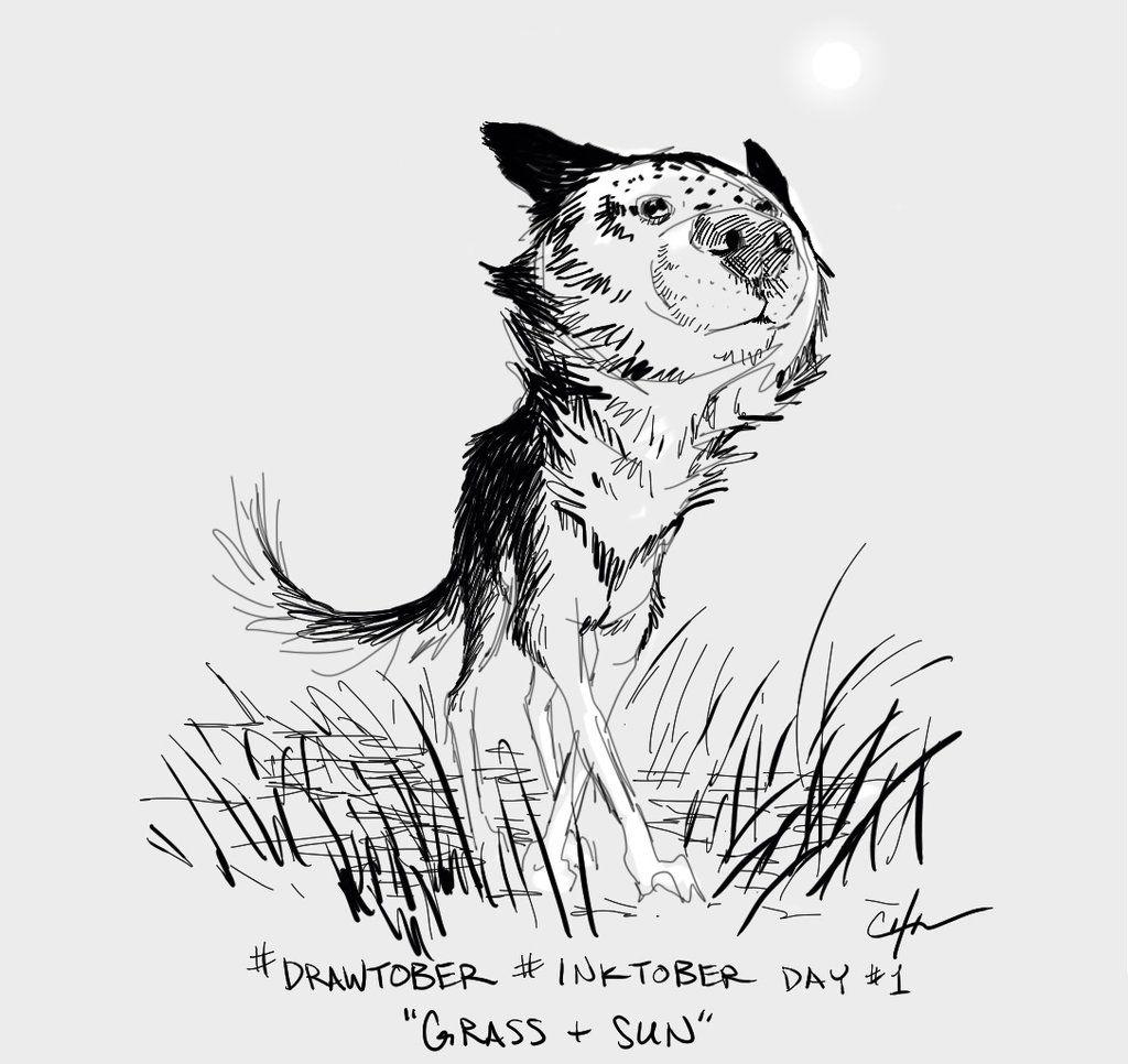 Drawtober Inktober Day 01 by imaginism.deviantart.com on @deviantART