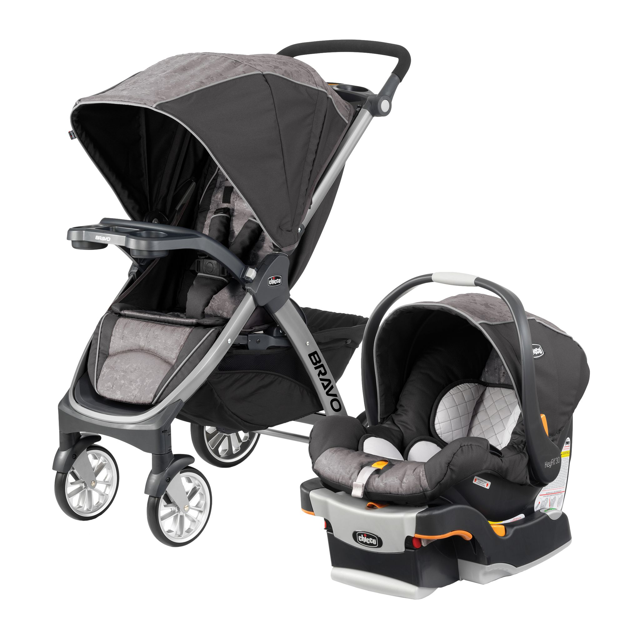 The chiccousa Bravo® Trio 3in1 travel system makes it