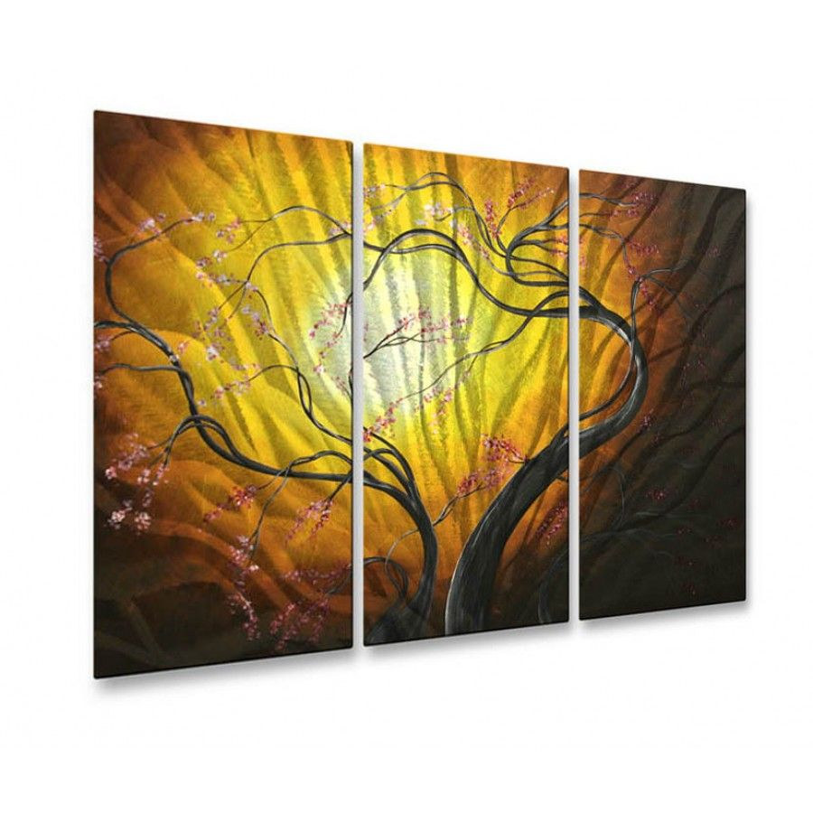 All My Walls Blossoming in the Sun Metal Wall Art - MAD00114 ...