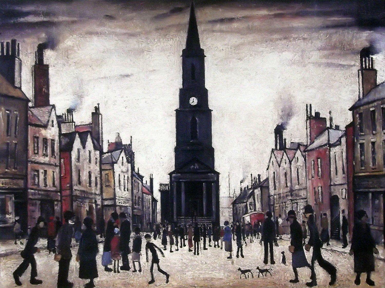Berwick upon Tweed L S Lowry Print