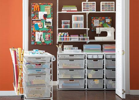tight space wheel out storage baskets and concertina doors sewing room space crafts craft. Black Bedroom Furniture Sets. Home Design Ideas