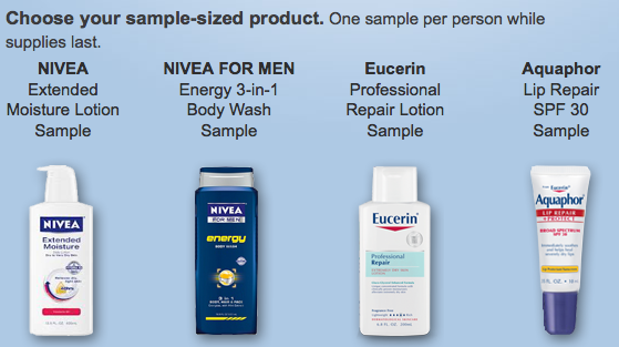 graphic about Aquaphor Printable Coupon named Absolutely free Nivea, Eucerin, or Aquaphor pattern (Faceboook give