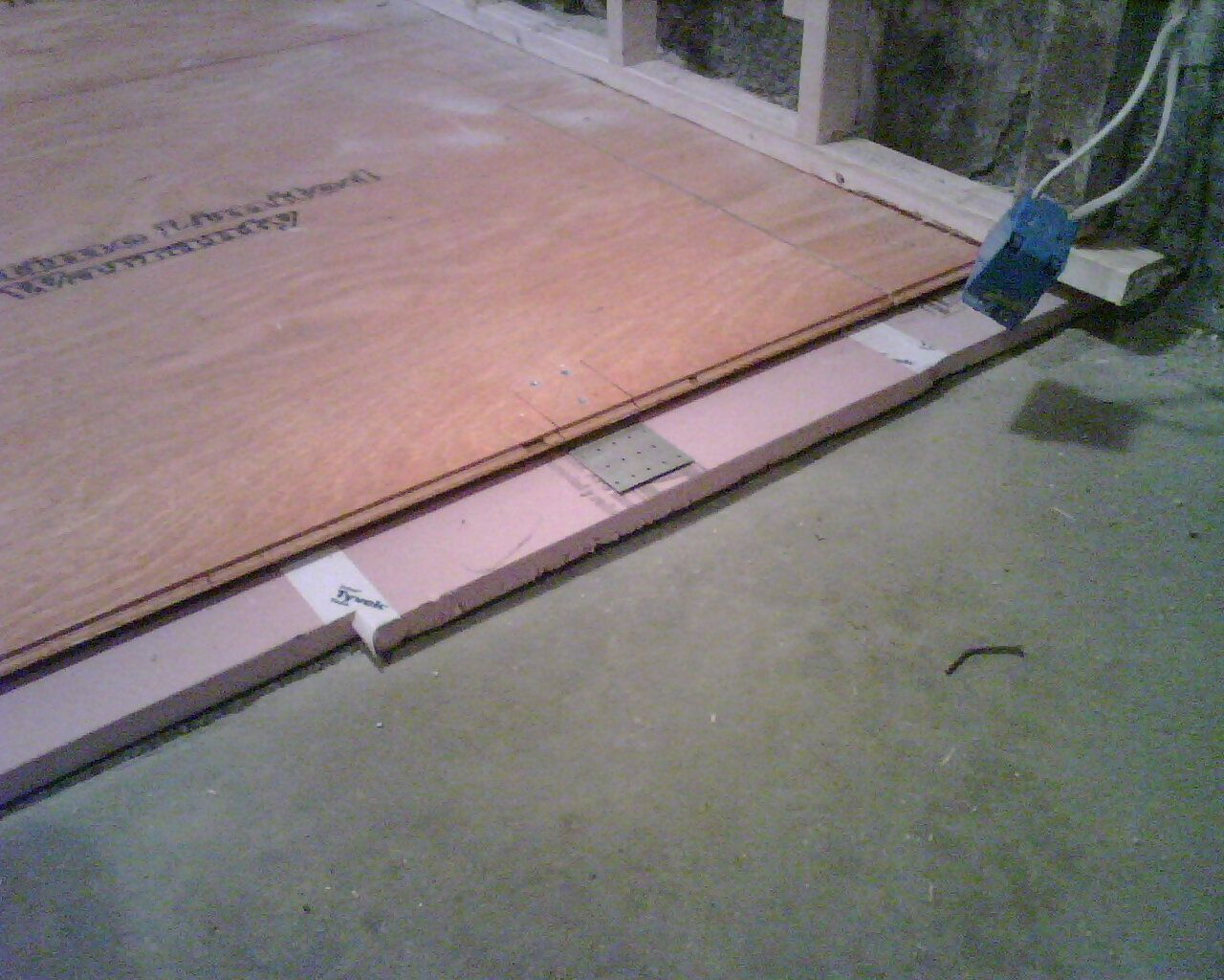 Insulating Wood Floor Over Concrete in 2019 Floor